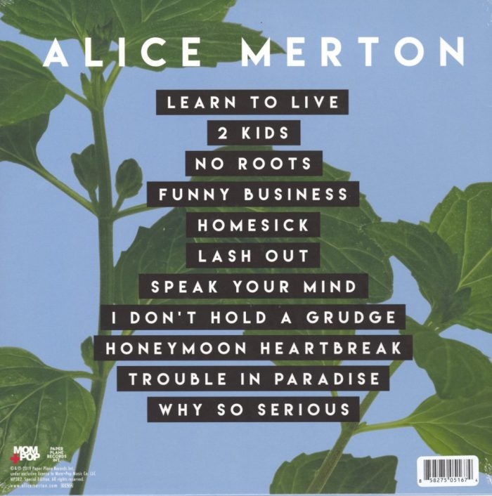 Alice Merton - MINT - Limited Edition, White, Colored Vinyl, Mom & Pop, 2019