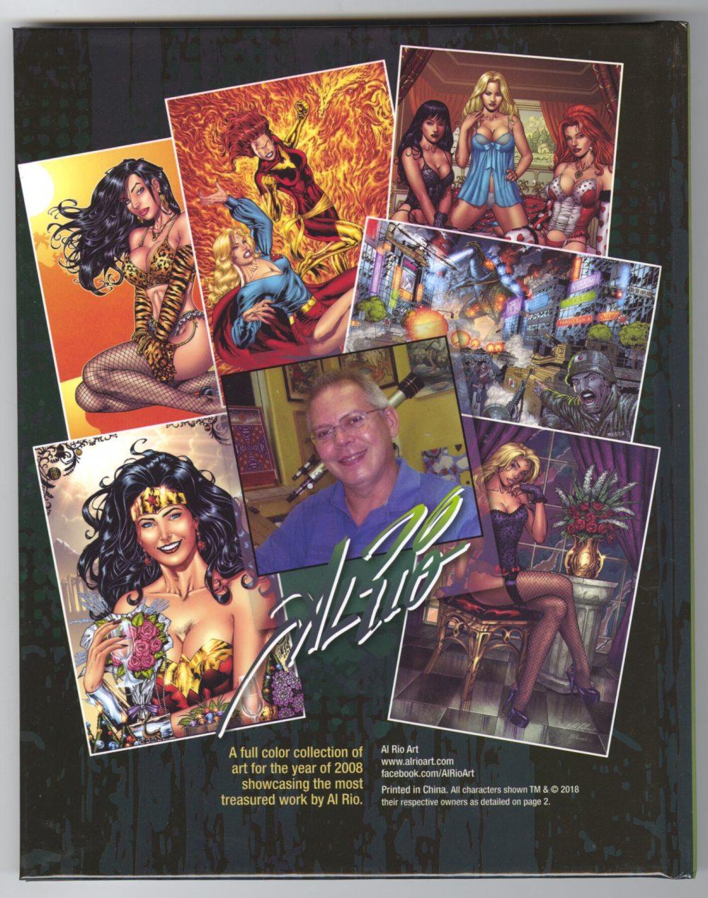 Al Rio Tribute Art Book Volume 3