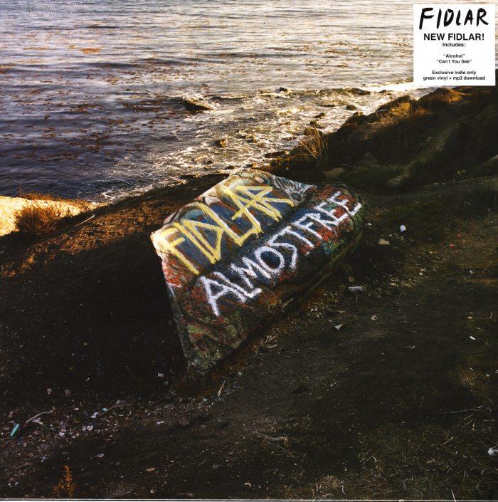Fidlar - Almost Free - Ltd Ed, Green, Colored Vinyl, Mom + Pop, 2019