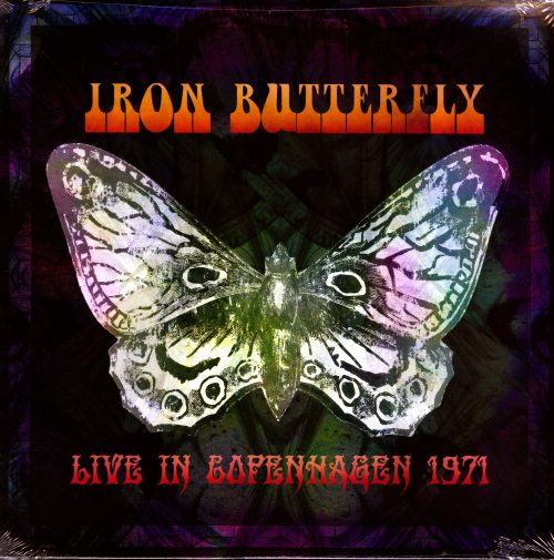 Iron Butterfly - Live In Copenhagen 1971 - Limited Edition, 2XLP, Cleopatra Records