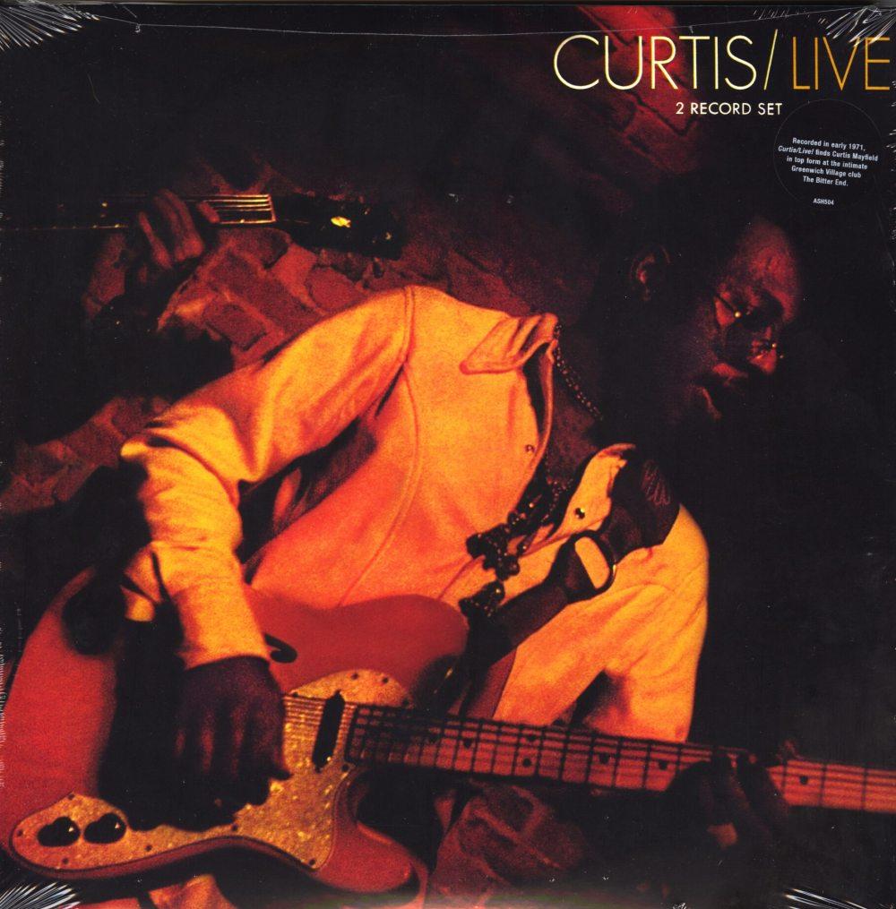 Curtis Mayfield - Curtis / Live! - Double Vinyl, Gatefold, Reissue, Antarctica Starts, 2018