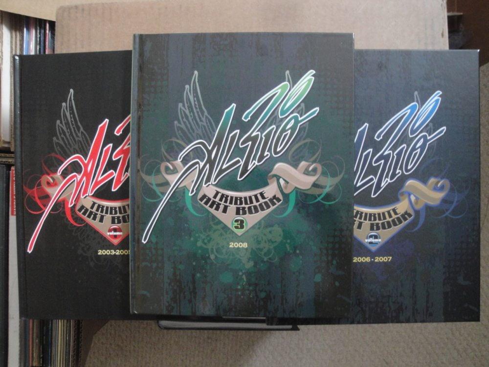 Al Rio Tribute Art Book - Volumes 1, 2, and 3
