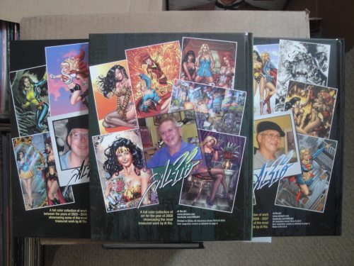 Al Rio Tribute Art Book - Volumes 1, 2, and 3