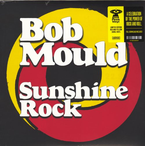 Bob Mould - Sunshine Rock - Ltd Ed Red and Yellow Colored Vinyl, LP, Merge, 2019