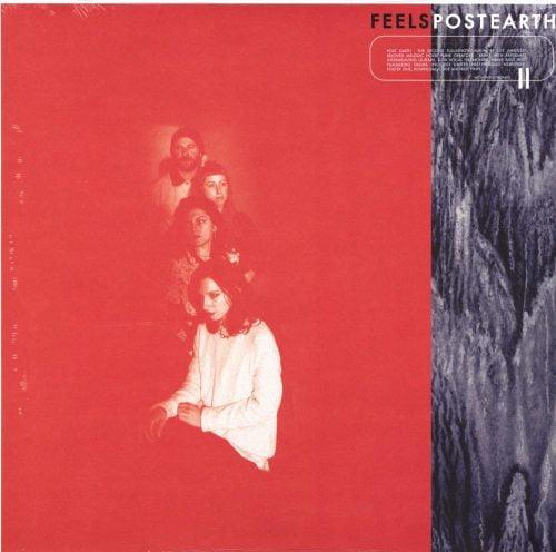 Feels - Post Earth - Ltd Ed Red Colored Vinyl, Wichita Records, 2019