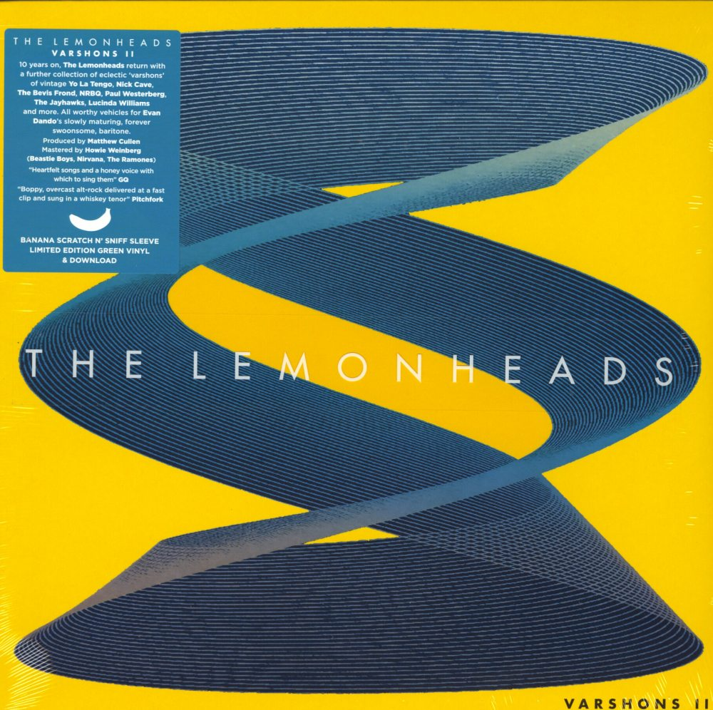 Lemonheads - Varshons 2 - Ltd Ed, Green, Colored Vinyl, Fire Records, 2019