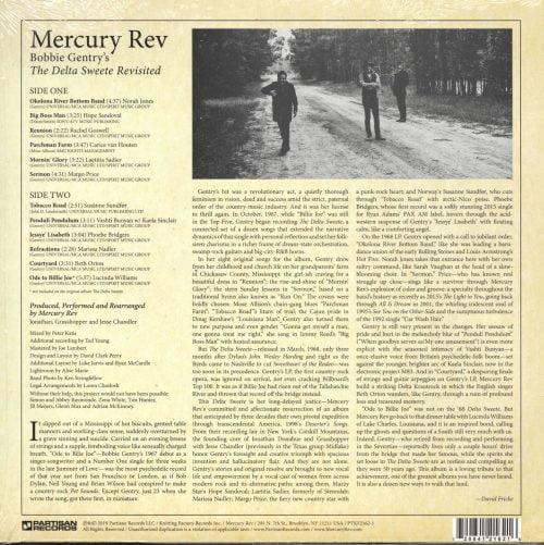 Mercury Rev - Bobbie Gentry's The Delta Sweete Revisited - Vinyl, LP, PTKF, 2019