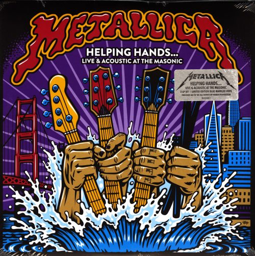 Metallica - Helping Hands...Live & Acoustic At The Masonic - Ltd Ed, Colored Vinyl, 2019