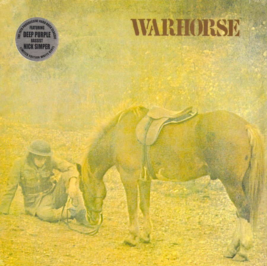 Warhorse - Warhorse - Limited Edition, White Colored Vinyl, Reissue, Purple Pyramid, 2018