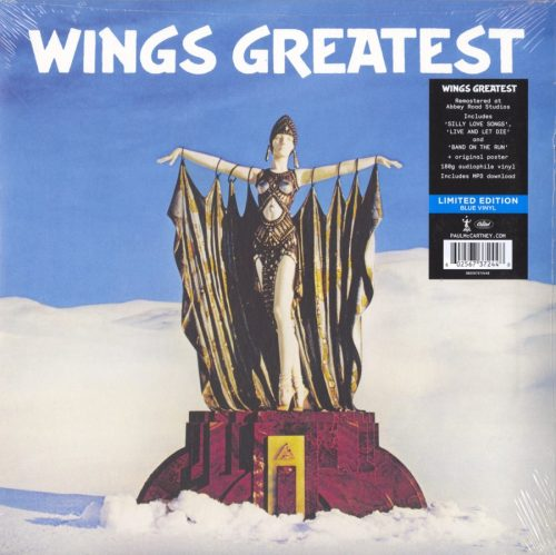 Wings - Greatest - Limited Edition, Blue, Colored Vinyl, Abby Road Remastered, 2018