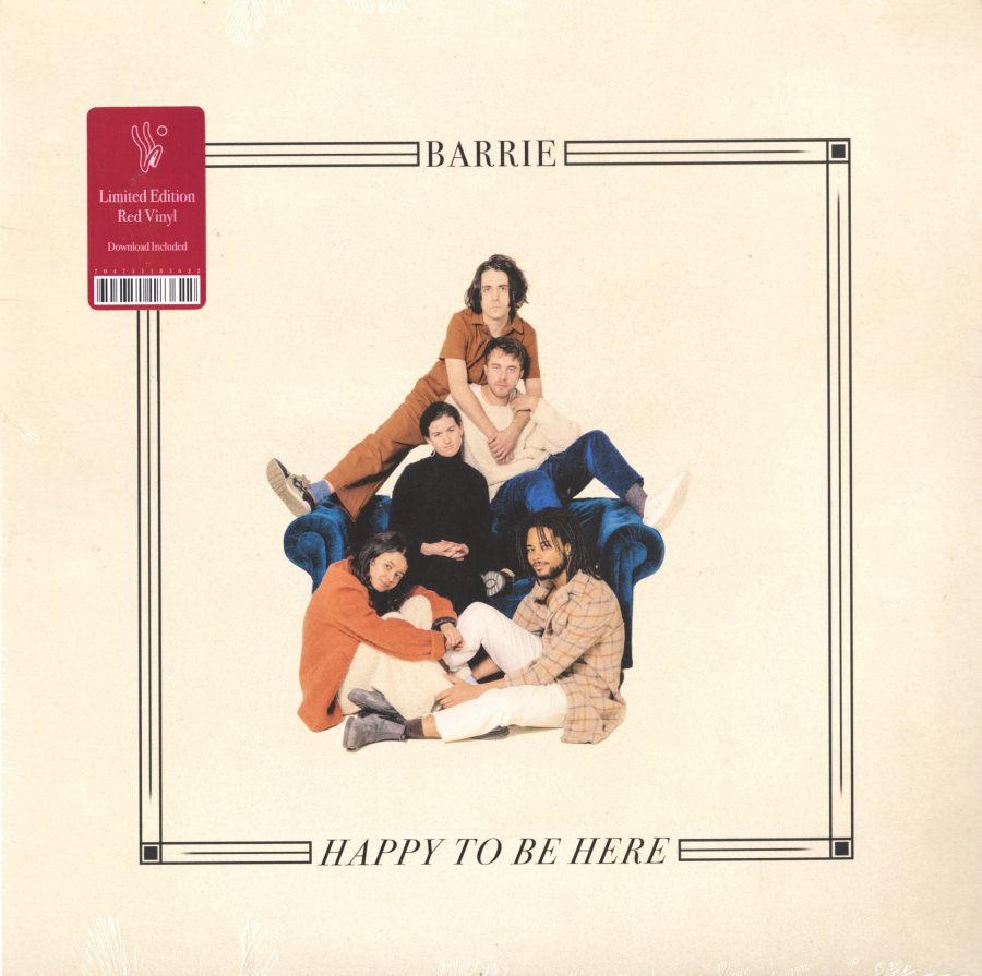 Barrie - Happy To Be Here - Limited Edition, Red, Colored Vinyl, Winspear, 2019