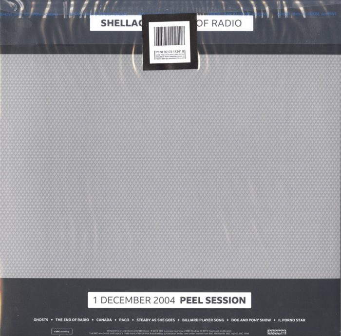 Shellac - The End of Radio - 180 Gram, Double Vinyl, Touch & Go Records, 2019