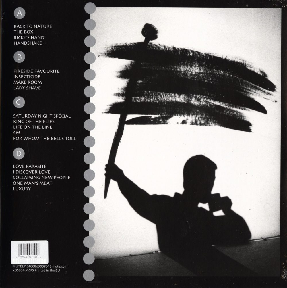 Fad Gadget - Best Of Fad Gadget - Ltd Ed, Silver, Colored Vinyl, 2XLP, Mute U.S., 2019