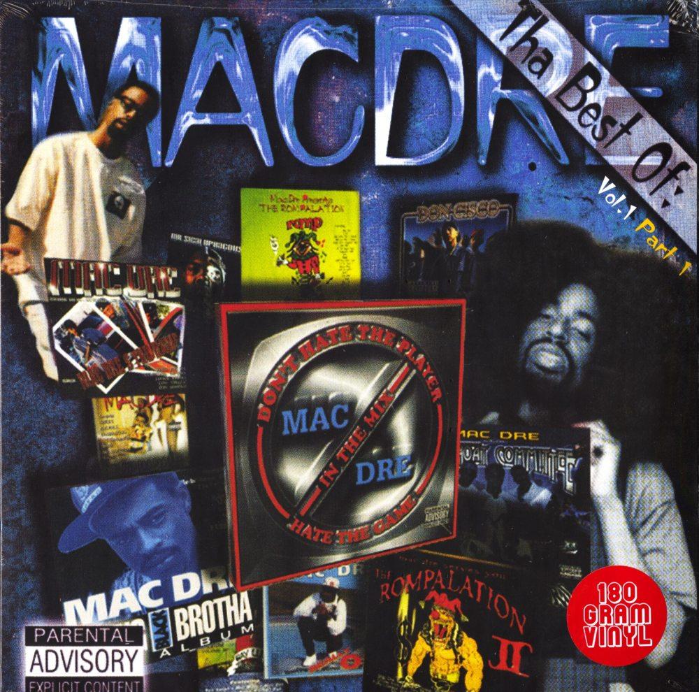 Mac Dre – Best of Mac Dre 1: Part 1 – Double Vinyl, LP, Thizz Ent, 2019