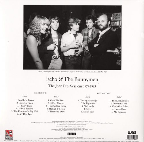 Echo & the Bunnymen - The John Peel Sessions 1979-1983 - Vinyl, LP, Rhino Warner Classic, 2019