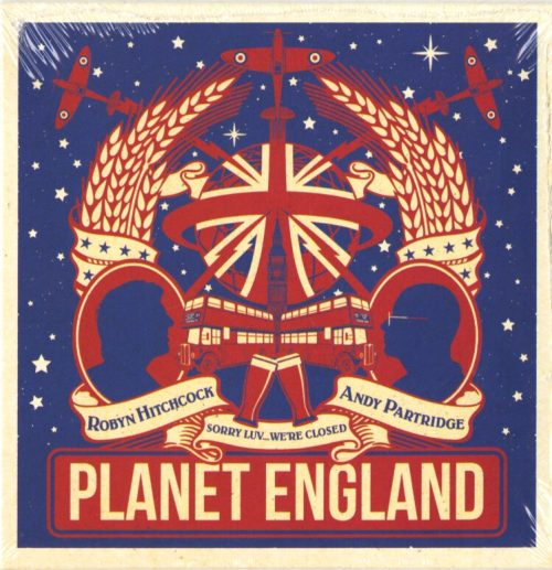 Robyn Hitchcock and Andy Partridge - Planet England - CD, EP, Ape House Uk, 2019