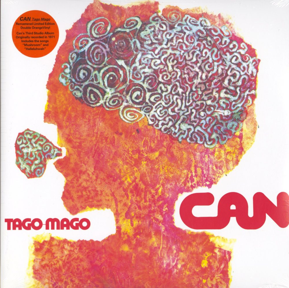 Can - Tago Mago - Limited Edition, Orange, Colored Vinyl, 2XLP, Mute U.S., 2019