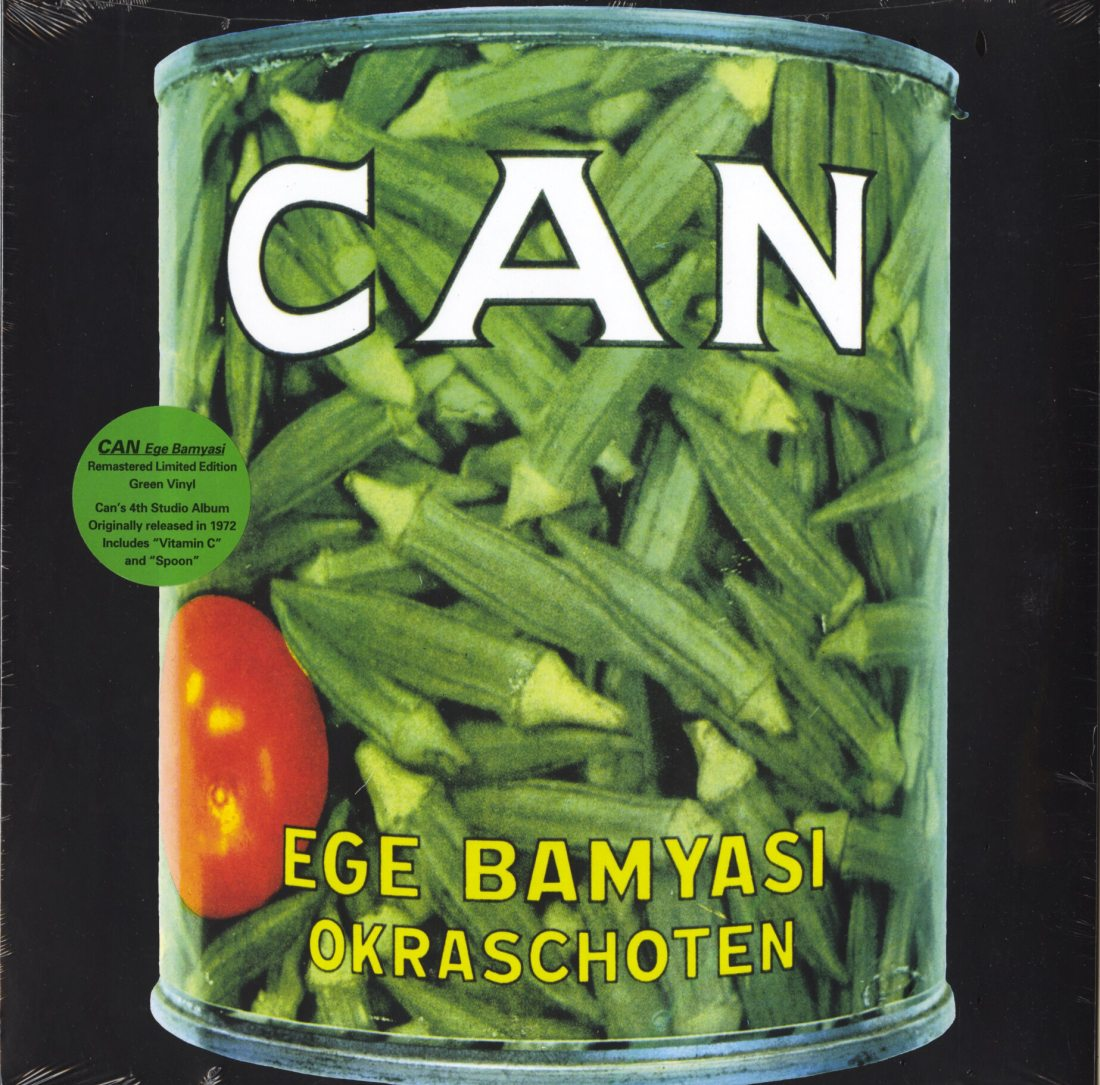 Can - Ege Bamyasi - Limited Edition, Green, Colored Vinyl, Reissue, Mute U.S., 2019