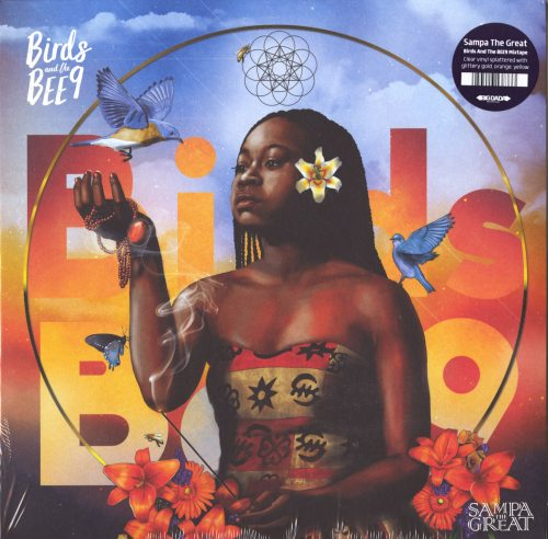 Sampa The Great - Birds And The BEE9 - Ltd Ed, Clear, Colored Vinyl, Reissue, Big Dada, 2019
