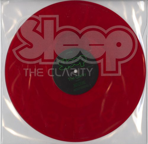 Sleep - The Clarity - Limited Edition, Red, Colored Vinyl, Southern Lord, 2017