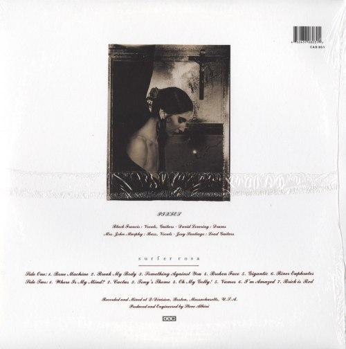 Pixies - Surfer Rosa - 180 Gram, Vinyl, Reissue, 4AD, 2004 - New, Sealed