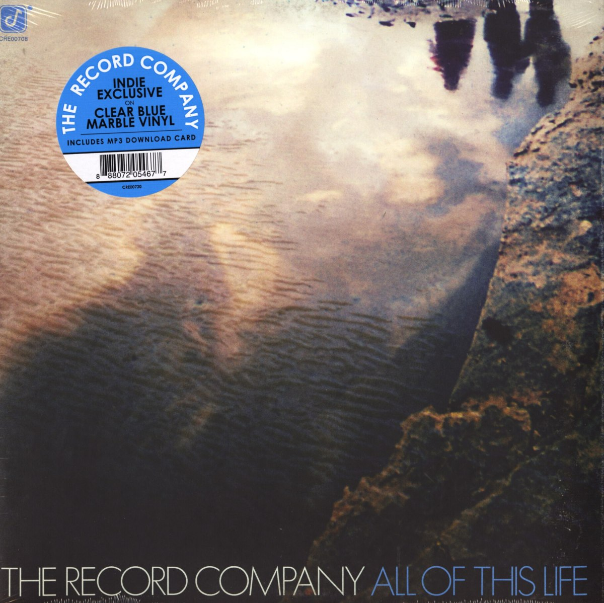 The Record Company - All Of This Life - Limited, Clear Blue Marble, Colored Vinyl, LP, Concord Records, 2018