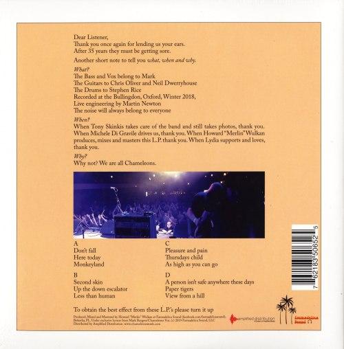 Chameleons Vox - Script Of The Bridge (live) - Double Vinyl, 2XLP, Farmadelica Sound, 2020