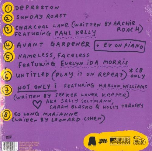 Courtney Barnett - MTV Unplugged Live In Melbourne - Ltd Ed, Aqua Blue, Colored Vinyl, Mom & Pop, 2020