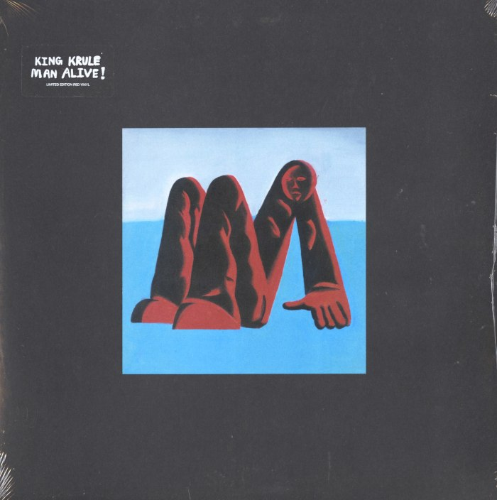 King Krule - Man Alive! - Limited Edition, Red, Colored Vinyl, True Panther Sounds, 2020