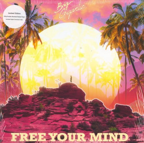 Big Gigantic - Free Your Mind - Limited Edition, Yellow Marble, Colored Vinyl, LP, Counter Records, 2020