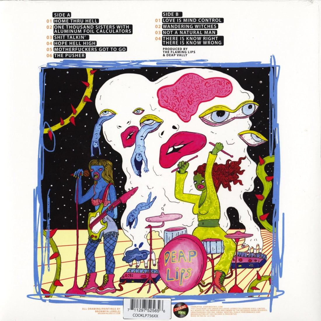 Deap Lips - Deap Lips - Limited Edition, White, Colored Vinyl, LP, Cooking Vinyl, 2020