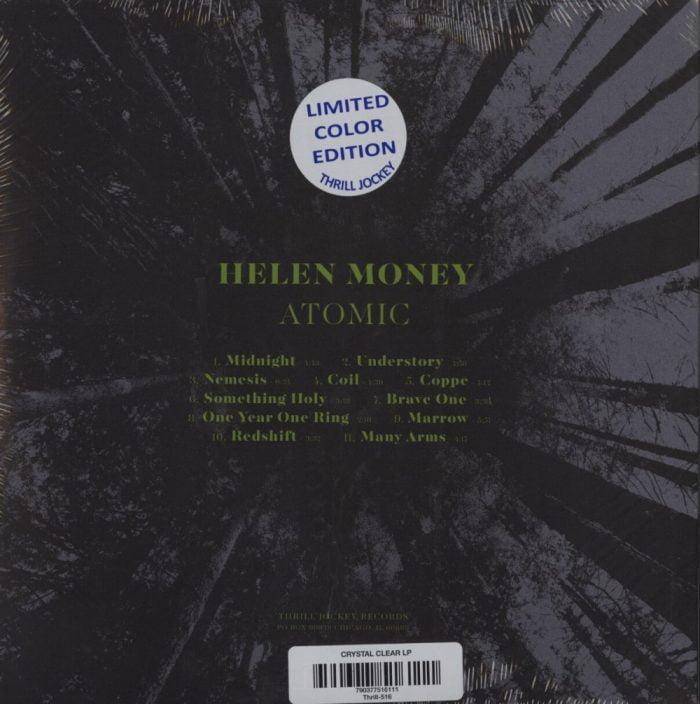 Helen Money - Atomic - Limited Edition, Clear Vinyl, Thrill Jockey Records, 2020