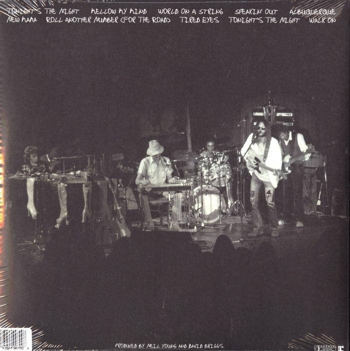 Neil Young - Roxy - Tonight's The Night Live - 2XLP, Double Vinyl, WEA, 2018
