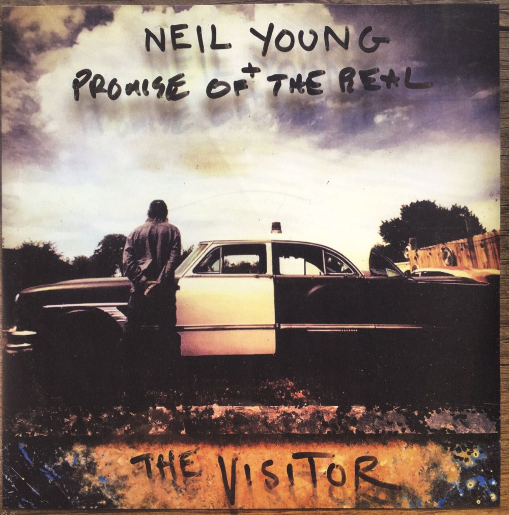 Neil Young - The Visitor - 2XLP, Double Vinyl, WEA, 2018
