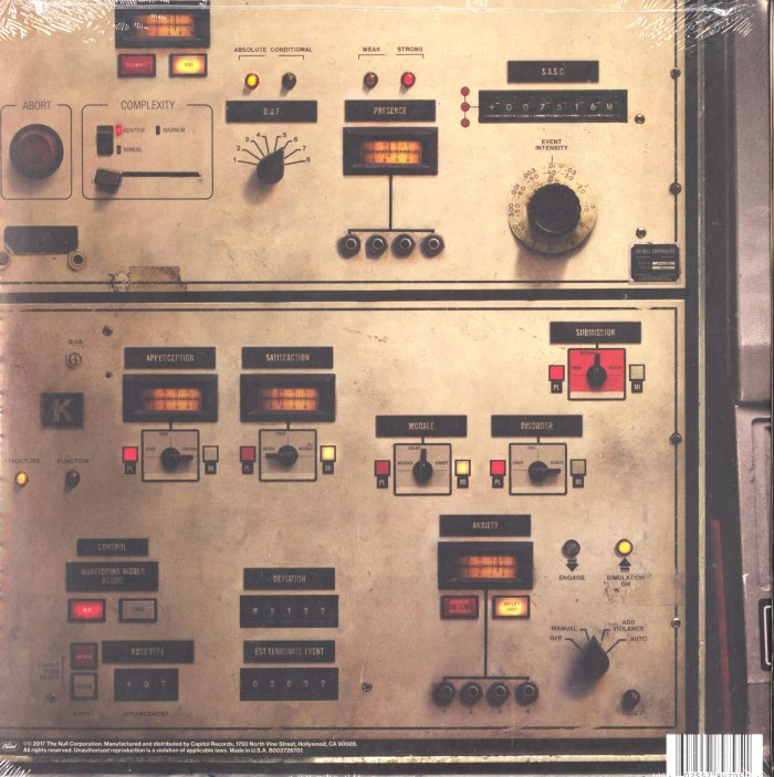 Nine Inch Nails - Add Violence - Vinyl, EP, Capitol Records, 2017