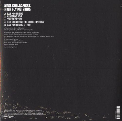 Noel Gallagher's High Flying Birds - Blue Moon Rising - Ltd Ed, Gold, Colored Vinyl, EP, Caroline Records, 2020