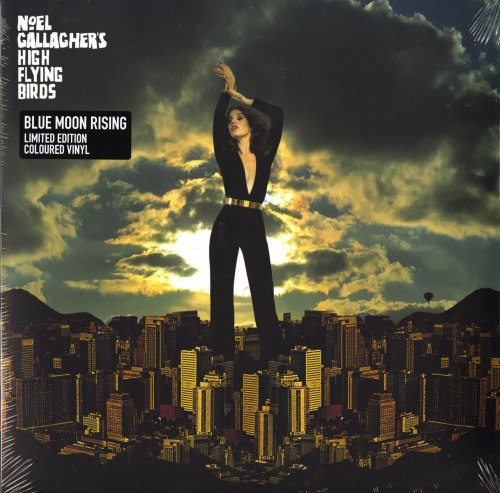 Noel Gallagher's High Flying Birds - Blue Moon Rising - Ltd Ed, Gold, Colored Vinyl, EP, Caroline Records, 2020