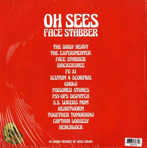 Oh Sees - Face Stabber - Double Vinyl, LP, Castleface, 2019