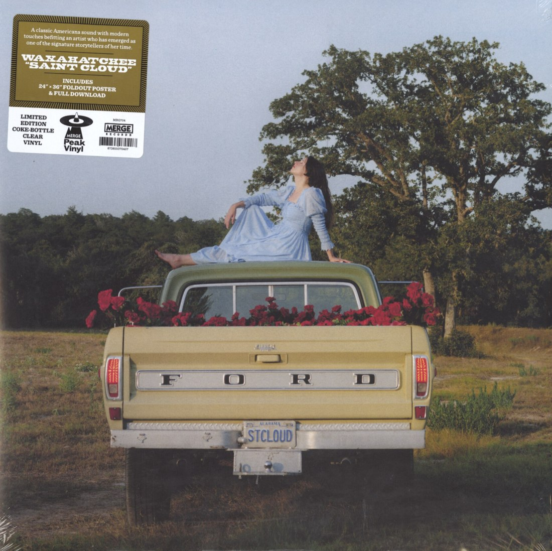 Waxahatchee - Saint Cloud - Ltd Ed, Coke-bottle Clear Vinyl, LP, Merge Records, 2020