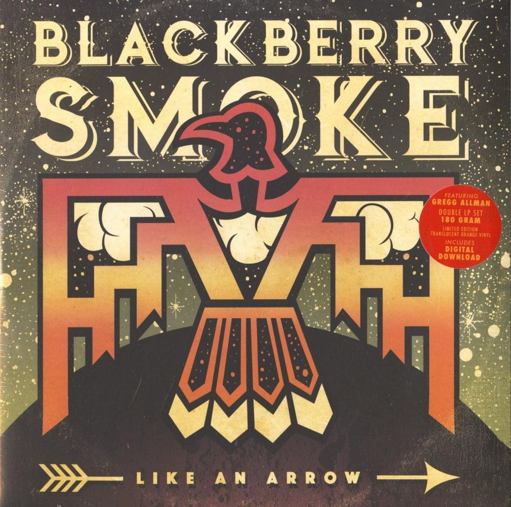 Blackberry Smoke - Like An Arrow - Ltd Ed, 2XLP, Orange, Colored Vinyl, Double Vinyl, 3 Legged Records, 2016