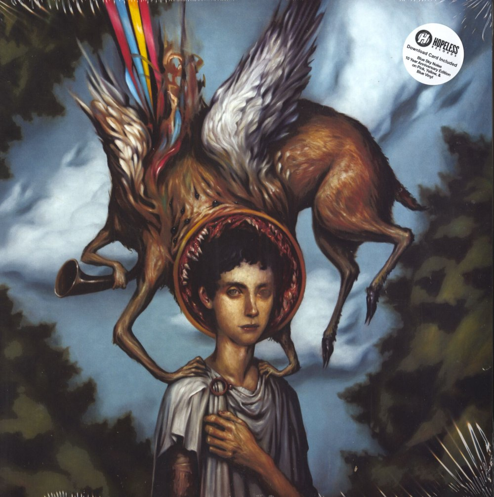 Circa Survive - Blue Sky Noise - Limited Edition, 3XLP Colored Vinyl, 10th Ann. Edition, Hopeless Records, 2020