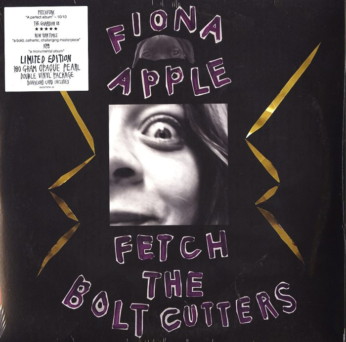 Fiona Apple - Fetch The Bolt Cutters - Double Vinyl, LP, Opaque Pearl Colored Vinyl, Epic, 2020, NM