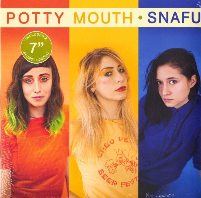 "Potty Mouth - Snafu - Blue, Colored Vinyl, Bonus 7"", Get Better Records, 2019"
