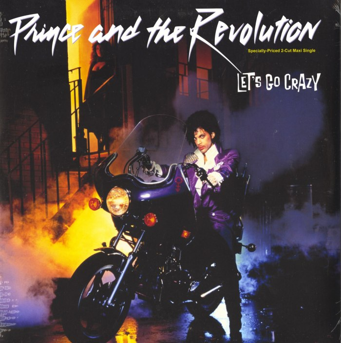 """Prince and The Revolution - Let's Go Crazy / Erotic City, 12"""", Maxi-Single, Warner Brothers, 2017"""