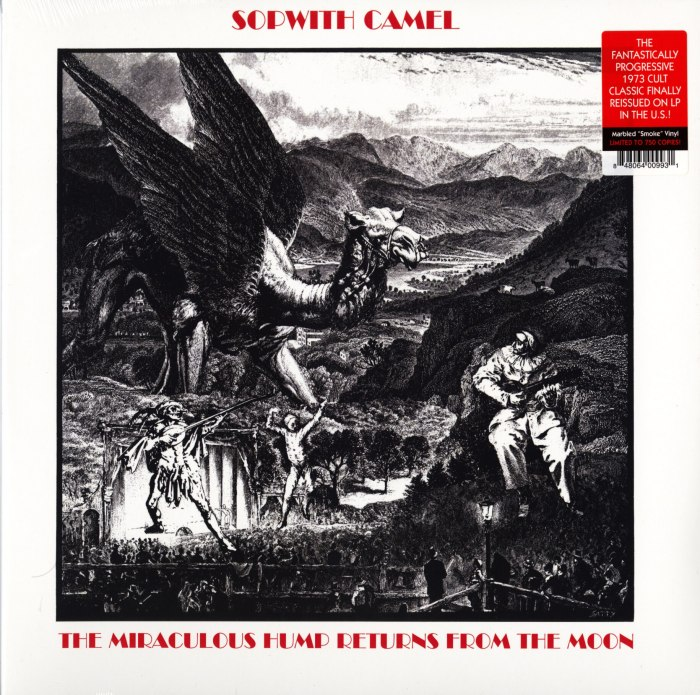 Sopwith Camel - Miraculous Hump Returns From The Moon - Vinyl, LP, Reissue, Real Gone Music, 2020