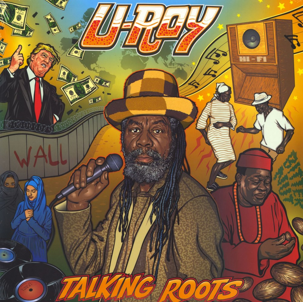 U-Roy - Talking Roots - Vinyl, LP, Mad Professor, Ariwa Sounds, 2018