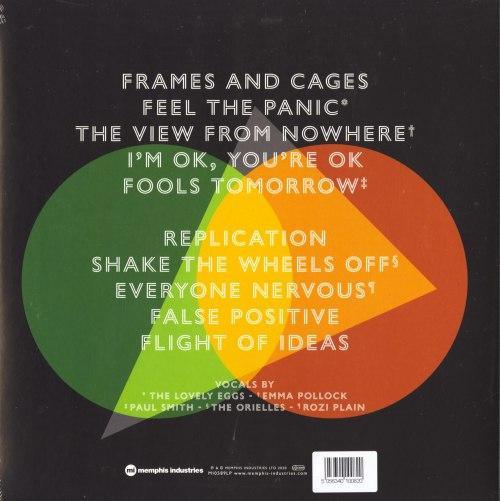 Warm Digits - Flight Of Ideas - Ltd Ed, Orange, Colored Vinyl, LP, Memphis Industries, 2020