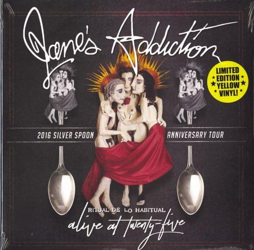 Jane's Addiction - Ritual De Lo Habitual Live - Ltd Ed, Yellow, Double Vinyl, Cleopatra, 2020