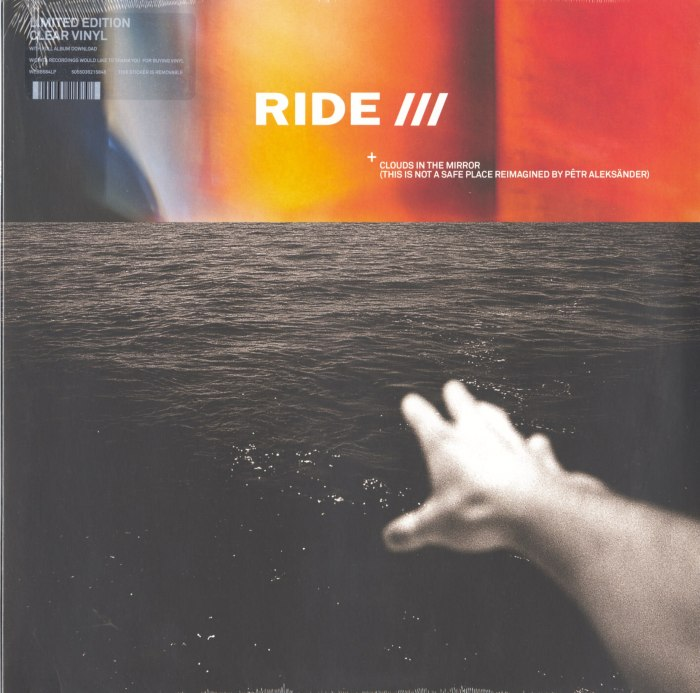 Ride - Clouds In The Mirror (This Is Not A Safe Place reimagined by Petr Aleksander), Ltd Ed, Clear Vinyl, LP, Wichita Records, 2020
