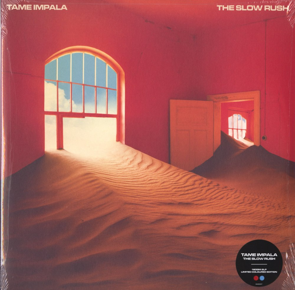 Tame Impala - The Slow Rush - Ltd Ed, Red, Black, 2XLP, Double Vinyl, Interscope Records, 2020